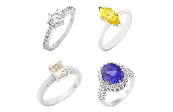 Consider shape when buying your ring