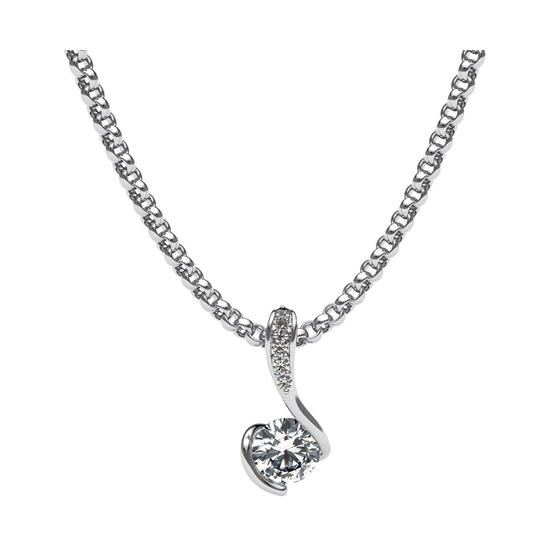 Diamond solitaire pendant for sale by uwe koetter jewellers diamond solitaire pendant aloadofball Images