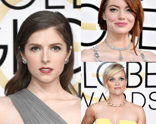 The hottest looks at the Golden Globes 2017
