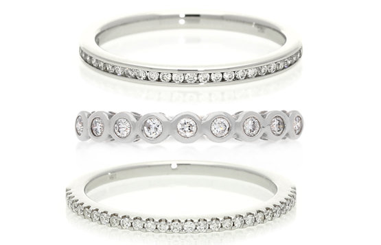 Pros and cons of the most popular eternity ring settings