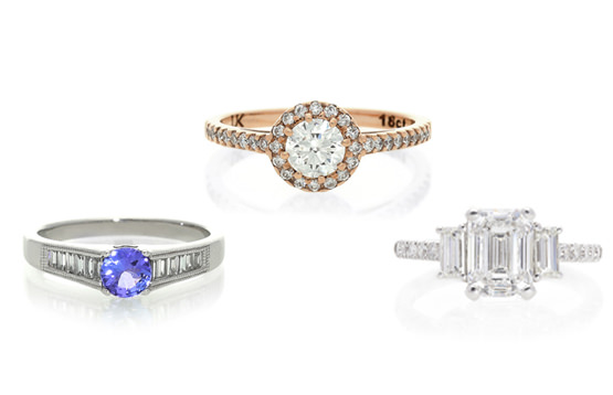 How to choose the side stones for your engagement ring