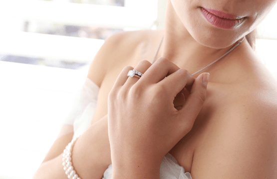 How to pair a wedding ring with your engagement ring