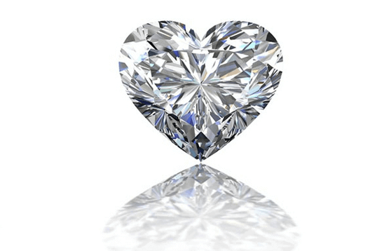 The heart-shaped diamond cut