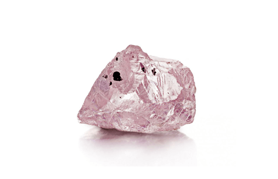 The rarity of pink diamonds